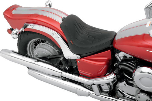 Z1R Low Profile Solo Seat for '98-15 650 V-Star Custom -Flame