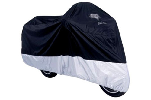 Nelson Rigg Deluxe All Season Cover -Black/Silver Large