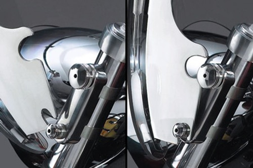 National Cycle QuickSet4 Mount Hardware for SwitchBlade Windshields on VTX1300R/S '03-up