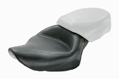 Mustang  Wide Solo Seat  for Sportster '04-up (3.3 gallons) -Vintage