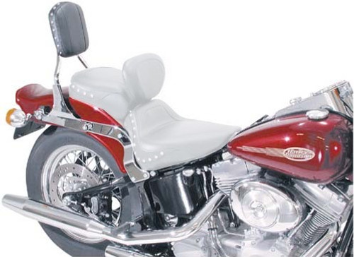 Mustang  Sissy Bar Pad for Softail '00-07 with Standard Tire-Studded