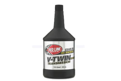 Red Line  V-Twin Transmission Oil with ShockProof®  Sold per Qt.