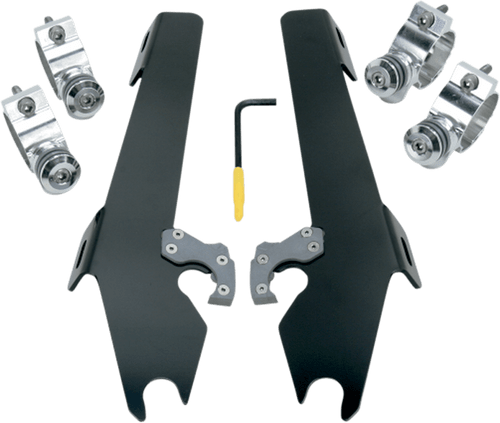 Memphis Shades Batwing Windshield Mounting Kit for Vegas