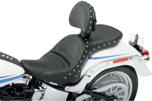 Saddlemen Explorer Special Seat for '00-07 FXSTD With Driver Backrest