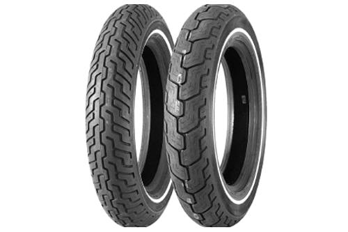 Dunlop Harley Davidson D402 Tires FRONT-MT90B16SWS  72H Slim White Stripe  -Each
