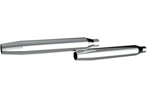 Khrome Werks 3 Inch HP-Plus Slip-On Mufflers for '06-17 FXD -Tapered (exc. '10-Up FXDWG & '08-Up FXDF, FLD)