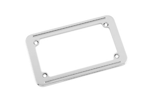 Biker's Choice  License Plate Frame Small Twin Line