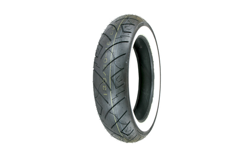 Shinko Motorcycle Tires 777 FRONT 130/90-16 4 Ply  73 -Whitewall, Each
