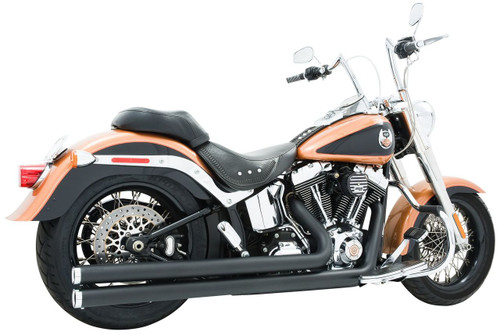 Freedom Performance Exhaust Independence LG for '86-17 Softail -Black