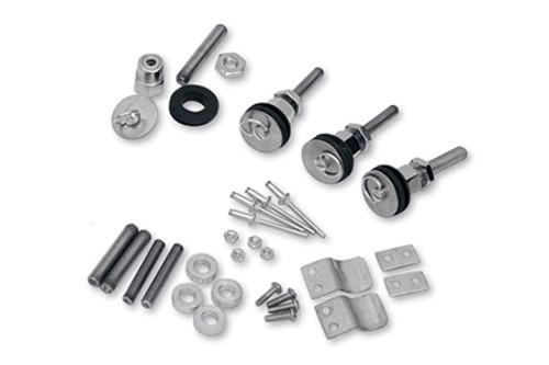 Saddlemen S4 Quick-Disconnect Saddlebag Docking Post and Fastener Kits for Yamaha Models Click for fitment