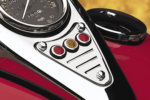 Cobra Billet Dash Plaquefor VN800C Drifter '00-up -Fluted
