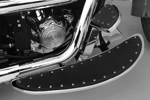 CycleSmiths Long Banana Boards for Touring and certain Softail Models Originally Equipped w/ Floorboards (Click for Details)