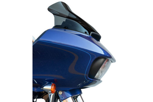 Klock Werks 14 inch Sport Tall Flare Windshield for '15-Up Road Glide Custom and Road Glide Special Dark Smoke