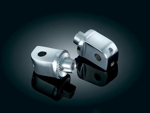 Kuryakyn Front & Rear Splined Footpeg Adapters for Victory Hammer, Vegas & Jackpot (All) (pair)