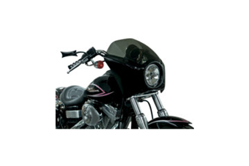 Arlen Ness Direct Bolt-On Fairings for '06-Up FXD  w/ Bottom Mount Headlight -Gloss Black