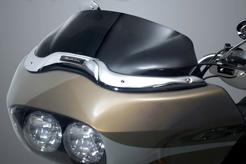 National Cycle Wave Windshield for '98-Up FLTR/X/U Road Glide Ultra Low, Dark Tint
