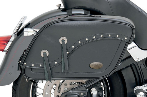 All American Rider Futura 2000 Detachable Slant Saddlebags -XX-Large, Rivet