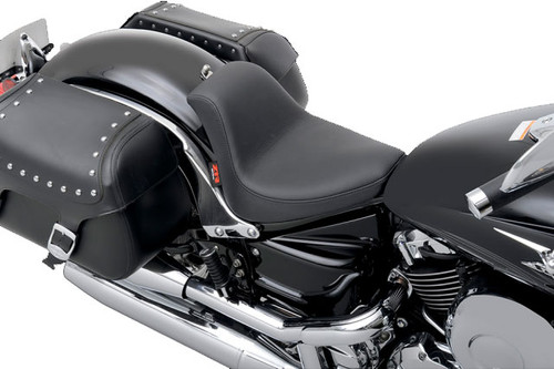 Z1R Low Profile Solo Seat for '98-16 650 V-Star Classic -Smooth