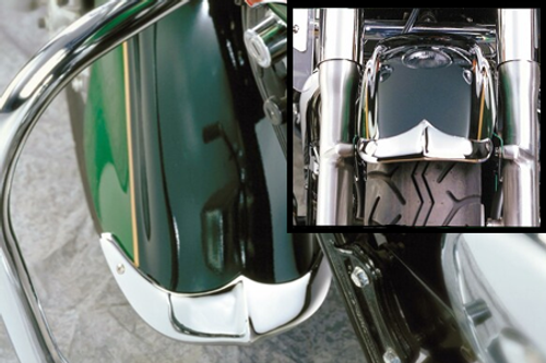 National Cycle Front Fender Tips/Trim for Vulcan 1600 '03-up - 2pc. Set