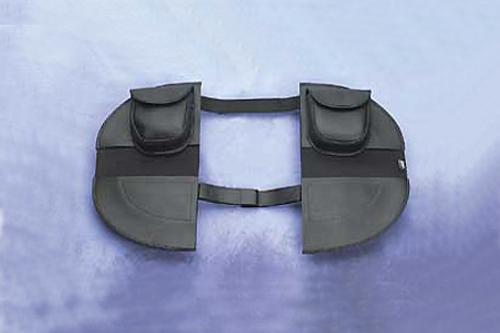 Hopnel Standard Pac-A-Derms Engine Guard Covers for '86-08 FLST/C w/ Front Dresser Bar and FLT/FLHT/FLHR '86-08