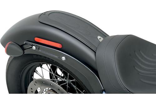 Drag Specialties Fender Skin for '12-13 FLS & '11-13 FXS -Flame-Stitch  Automotive-grade Vinyl Center