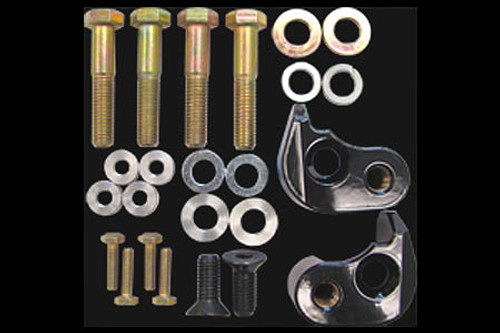 L.A. Choppers Rear Lowering Kits for '10-14 FLHX & '02-14  FLHT/FLHR/FLTR (does not fit FLHRS, FLHRC, or FLHXSE, FLTRSE)  -Black