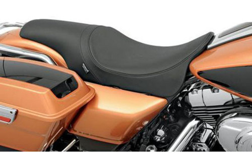 Drag Specialties Predator Seat for '97-07 FLHR , '06-07 FLHX (Except FLHRS/FLHRSE) -Smooth