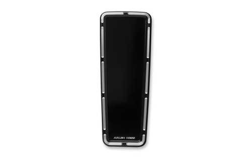 Arlen Ness Billet Dash Insert for '08-14 FLHT/FLHTC -Slot Track, Black