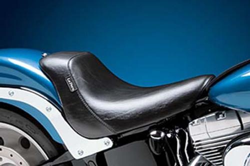 LePera  Bare Bones Solo Seat for '06-17 Softail (exc. Deuce) 200 mm TiresW/ Biker Gel