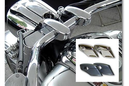 Baron Custom Liner Riser Pullback Risers for Roadliner/Stratoliner Chrome