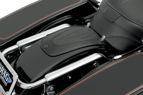 Drag Specialties Fender Skin for Harley Davidson Touring Models 1997-Up -Flame Stitch Automotive-Grade Vinyl