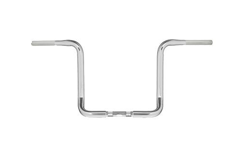 """Hard Drive 1&#188"""" Bagger Apehanger Bars for '80-07 FLH Touring Models -Chrome, 12"""""""