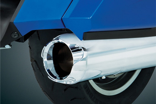Show Chrome Die Cast Exhaust Tips for GL1800 '01-Up -Pair
