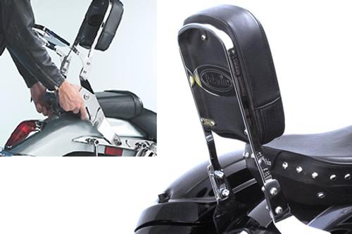 National Cycle-Paladin  QuickSet3 Backrest for 750DC Spirit '01-up QuickSet3 Mounting System Sold Separately
