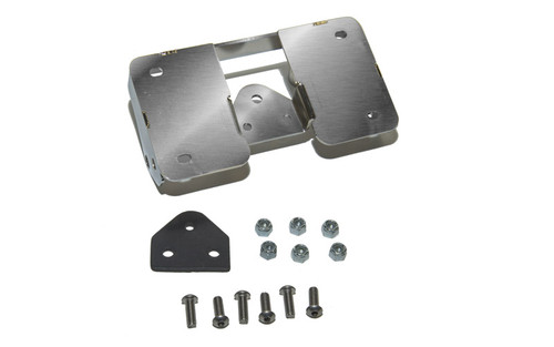 Easy Brackets Turn Signal Relocation Kit & Lay Down License Plate Mount for '07-17 FLSTF Softails ONLY