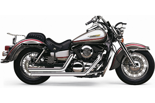 Cobra Speedster Slash-Down Exhaust with PowerPort for Marauder 1600 and M95 Boulevard '04-up