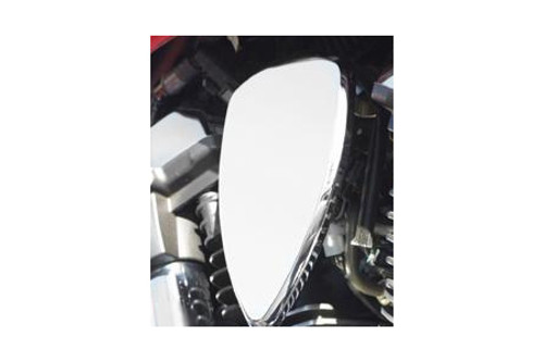 Baron Custom Mini Teardrop Engine Covers for Warrior '02-Up Smooth