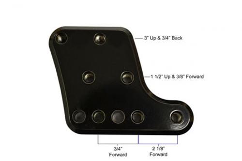 Barons Custom  Liner Passenger Floorboard Kit for Roadliner/Stratoliner '06-11