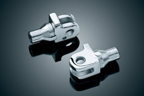 *CLEARANCE* Kuryakyn Front & Rear Footpeg Adaptersfor  Triumph Motorcycles Click for Fitment (pair)