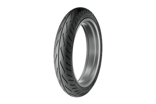 Dunlop Original Equipment Replacement Tires for VTX1800R/N/T   '03-08  FRONT 150/80R17  72H   BLK  D251F  Model -Each