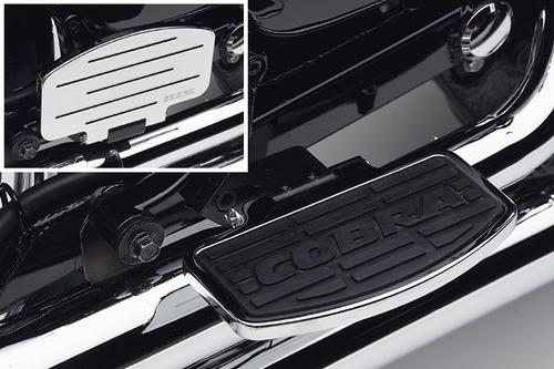 Cobra Rear/Passenger Floorboards for V-Star 1300 '07-up -Classic Style