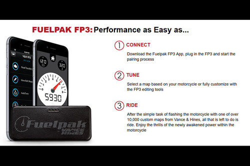 Vance & Hines FP3 Fuelpak Autotuner Fuel Injection Management System for  Certain '14-Up Harley-Davidson Motorcycles