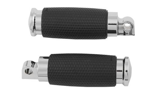 Avon Air Gel Footpegs for H-D Models (except '12 Sportster 48) -Chrome