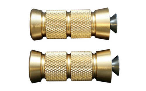 "Accutronix Brass Shift Pegs -Knurled/Grooved 2-1/4"" Long  (pr)"