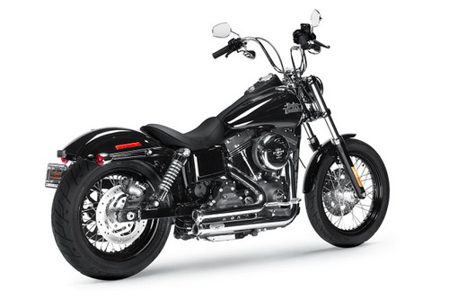 Arlen Ness by Magnaflow  LOWDOWN 2-INTO-2 SYSTEMS Exhaust  for '06-17 Dyna Models - Chrome