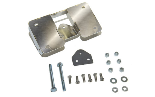 Easy Brackets Turn Signal Relocation Kit & Lay Down License Plate Mount for Certain Dyna Models '06-Up