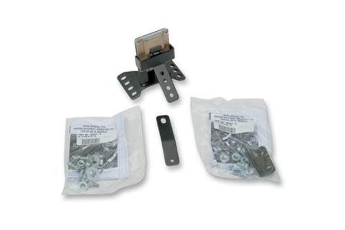 Drag Specialties Frame-Mount EZ Glide receiver Mechanism for Driver Backrest Pad Assembly Kit for '88-12 Dresser/Touring Models Backrest is sold separately