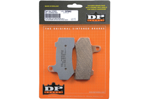 DP Brakes REAR Sintered Metal Brake Pads for Certain Softail & Dyna  ModelsOEM# 42298-08 -Pair