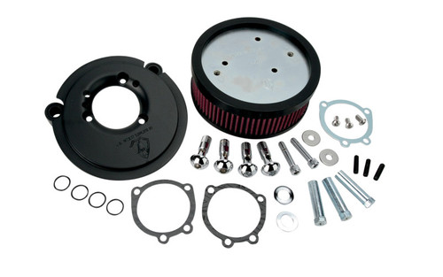 Arlen Ness Big Sucker Stage 1 Performance  Air Filter Kits for Harley Davidson XL Models '91-Up - Black DOES NOT INCLUDE COVER