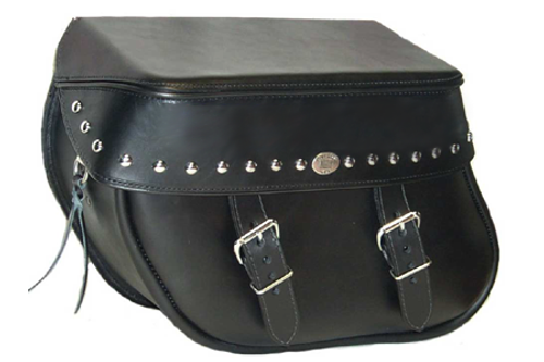Boss Bags #36 Model Studded on Lid Valence Only for Harley Models